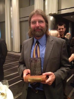 ... Paul McEuen took home a Thriller Award for Best First Novel. Yay, Paul