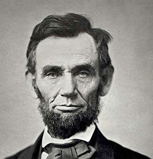 ... Abraham Lincoln referring to the Bible. ( the complete quote can be
