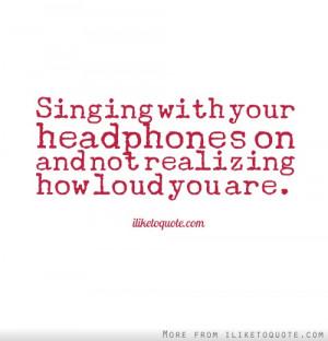 nice singing quotes