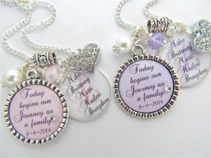step-daughter-gift-step-mother-purple-chram-necklace-wedding-keychain ...