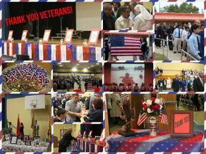 Thank you to all the Veterans who came to SJB this morning for our ...
