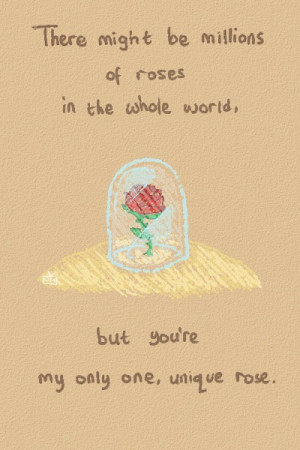 the little prince describing how he felt about his friend the rose ...