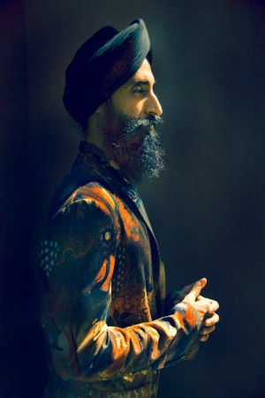stunning portrait of 2011 Scholastic Awards Juror Waris Ahluwalia by ...