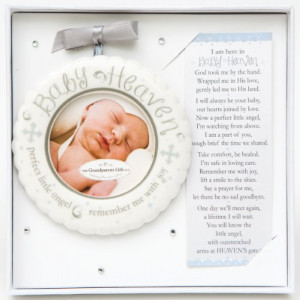 The Grandparent Gift Baby Heaven Miscarriage/Infant Loss Memorial ...