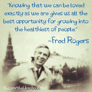 Mr Rogers knows best!