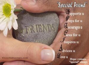 """True friends are always together in spirit"""""""