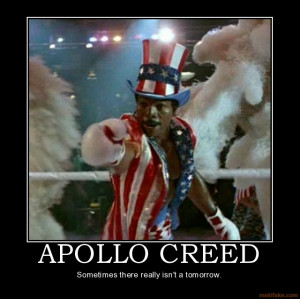 Apollo Creed's Ring Entrance in