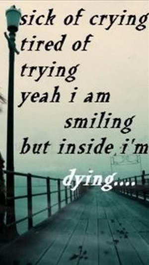 feeling broken inside quotes  quotesgram