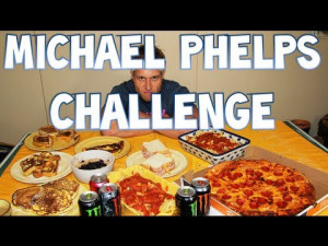 Competitive Eater Consumes Michael Phelps' Daily Calorie Allowance ...