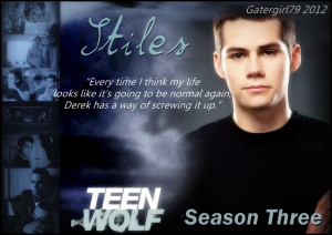 wolf sayings teen wolf funny quotes stiles from teen wolf quotes teen ...