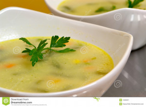 Vegetable Soup Royalty Free Stock Photography Image