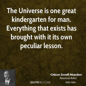Orison Swett Marden Nature Quotes