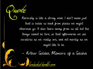 Memoirs Of A Geisha Quotes Novel