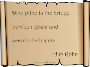 Jim Rohn on Discipline