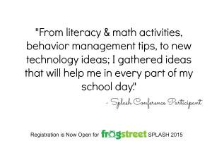 Frog Street's SPLASH Early Childhood Educational Conference Speakers