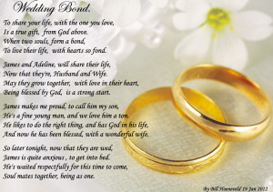 wedding poems for bride and groom