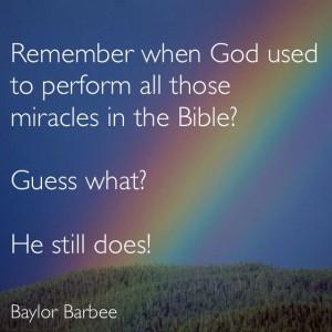 Have Faith. Pray and Believe