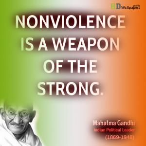 ... Gandhi Quotes Wallpapers free download. India International Day of Non