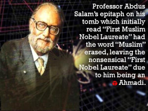 Salute to Nobel Laureate Dr. Abdus Salam who contributed significantly ...