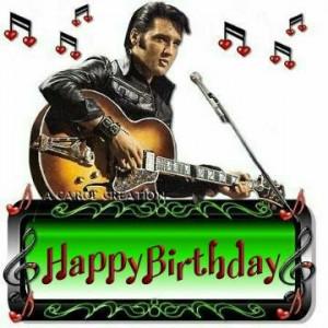 It's the birthday of Elvis Presley , born in Tupelo, Mississippi (1935 ...