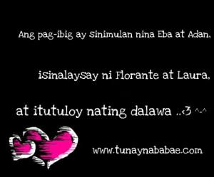 Banats Love Quotes Tagalog : Funny Quotes Tagalog Banat. QuotesGram