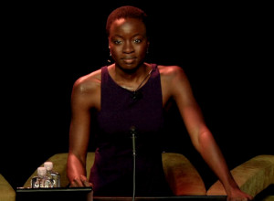 "Danai Gurira : ""Women! They have the answer! Just go to African ..."