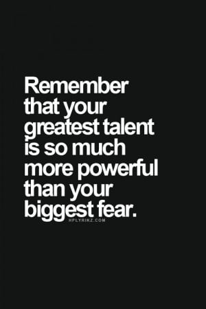 great quotes | remember that your greatest talent is so much more ...