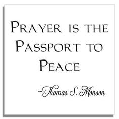 lds quotes about prayer   Custom LDS Missionary Tiles ...