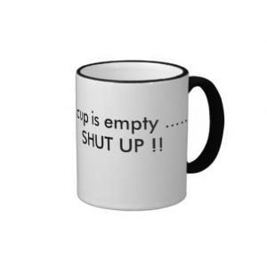 Funny sayings for a coffee tea drinker coffee mugs