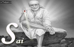 ... Saibaba Black N White Hd Photos Shirdi Sai Baba Full Size High picture