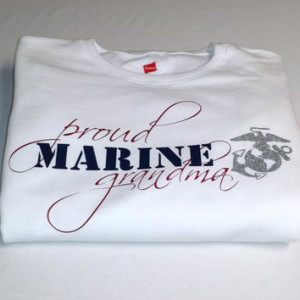 USMC Marine Corps Proud Grandma/Mom/Wife/Girlfriend/Sister/Aunt Women ...