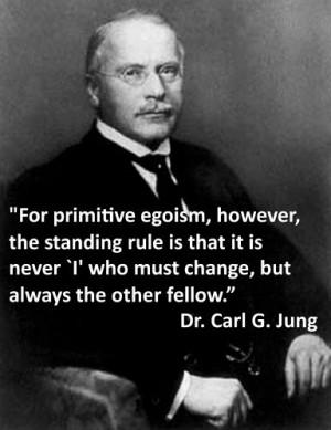 Primitive Egoism #Jung #Jungian #CGJung