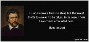 More Ben Jonson Quotes