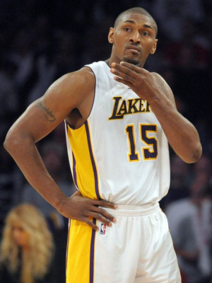 Metta World Peace to drop an interesting rap line or hilarious quote ...
