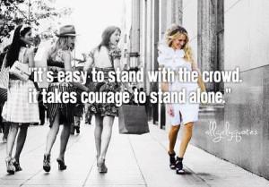 Yup I stand alone !!!