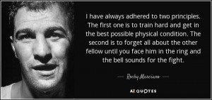 Rocky Marciano Quotes