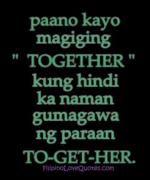quotes about love tagalog quotesgram