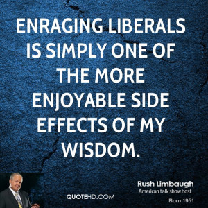 Rush Limbaugh Funny Quotes