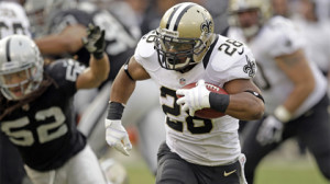 NEW ORLEANS SAINTS AT OAKLAND RAIDERS