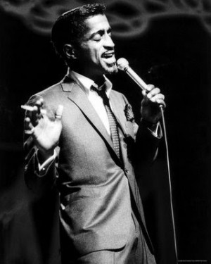 ... it with dew the candy man aka sammy davis jr can mr davis showed