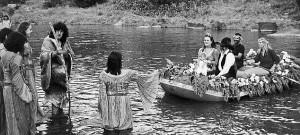 Allegra Huston And Anjelica
