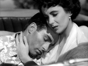 Montgomery Clift and Elizabeth Taylor in George Stevens' A Place in ...