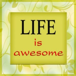 My Life is Awesome.. How is Your's?