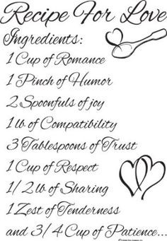Amazon.com : Cute Love Wall Sayings Recipe for Love- Love Wall Quotes ...