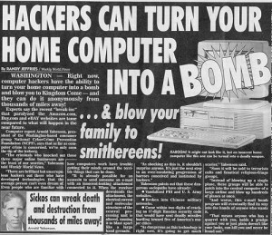 Hackers Can Turn Your Home Computer Into A Bomb