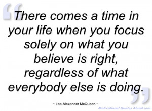 there comes a time in your life when you lee alexander mcqueen