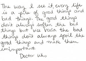 can doctor who quotes inspirational doctor who inspirational quote ...