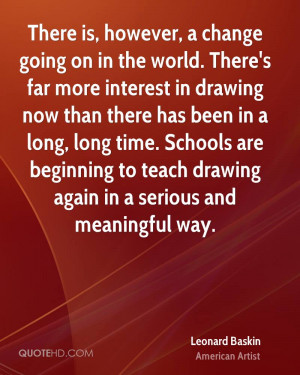 Leonard Baskin Quotes