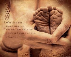 Adoption Gift - Scripture Art - Inspirational Artwork - Bible Verse ...
