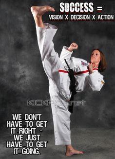 ... kick kicking woman girl taekwondo tkd ata atastrong martialarts karate
